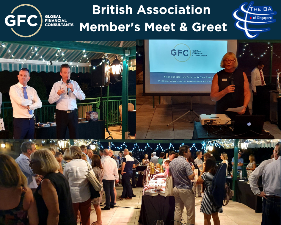 GFC attending a members' meet and greet event hosted by the British Association